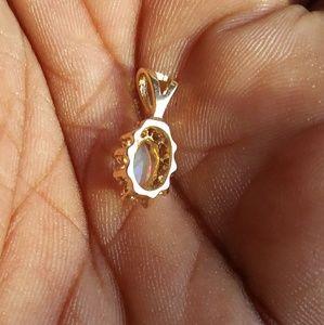 Zales Jewelry - Real 14kt Gold Diamonds Pendant